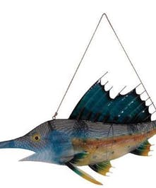 Metal decorative blue marlin gift in Port Charlotte, Florida