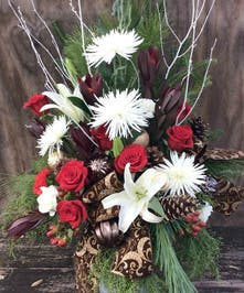 Christmas Tiddings Bouquet