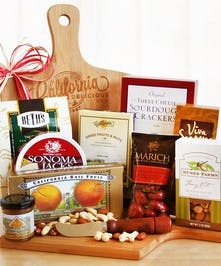 Cutting Board and Gourmet Gift Basket | Punta Gorda Florist