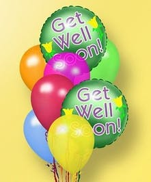 Get Well Balloon Bouquet in Port Charlotte FL, Port Charlotte Florist