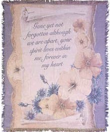 Gone Yet Not Forgotten Tapestry Throw, Port Charlotte, Florida