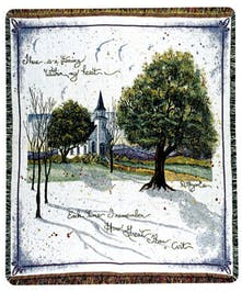 How Great Thou Art Tapestry Throw- Port Charlotte, Florida