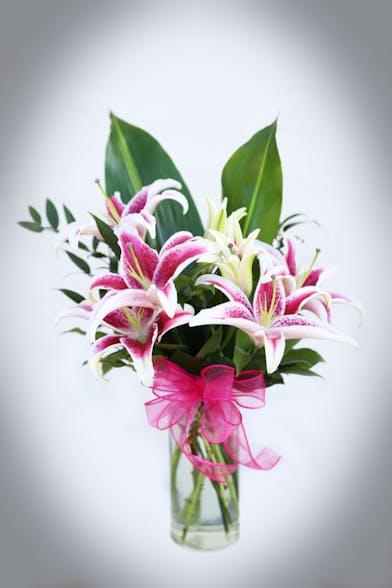 Enchanting Stargazer Bouquet Stargazers