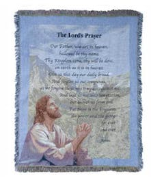 Lord's Prayer Tapestry Throw- Port Charlotte, Florida