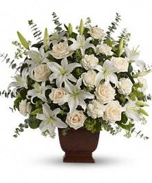 Loving Lilies and Roses Bouquet in Port Charlotte FL, Port charlotte Florist