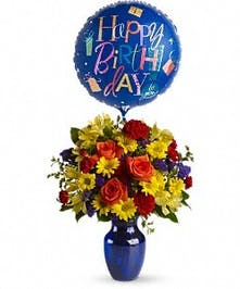 Fly Away Birthday Bouquet in Port Charlotte FL, Port Charlotte Florist