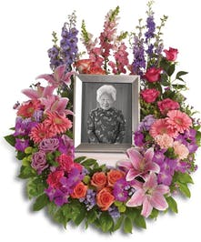 Sympathy Wreath | Port Charlotte Funeral Flowers