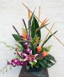 Tropical Breeze floral arrangement to send in Port Charlotte, Punta Gorda, North Port, Florida
