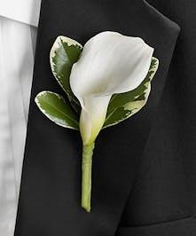 Pallbearer Boutonniere | Punta Gorda, North Port, Port Charlotte Funeral Flowers
