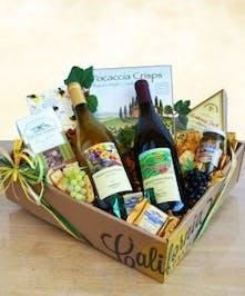 Best of California Wine Gift Basket | Port Charlotte Flowers & Gifts