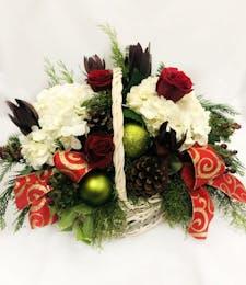Basket of Christmas Cheer