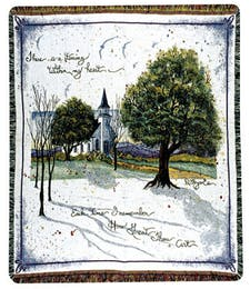 How Great Thou Art Tapestry Throw