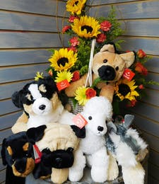 Pet Flower Basket